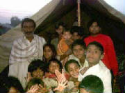 Group Photo with Gipsy Children.