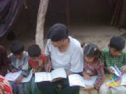 Teaching the Gipsy children for bright future